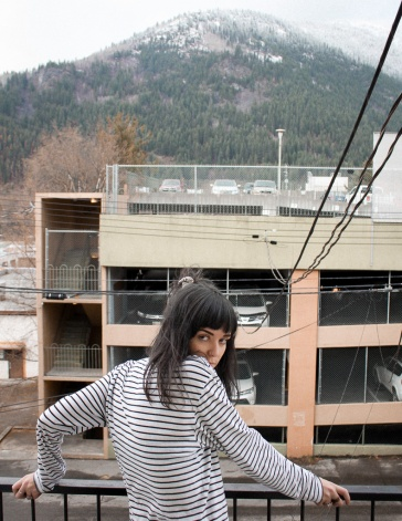First photoshoot with Anna Nelson, British Columbia