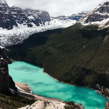 Tower of Babel - Looking at Moraine Lake